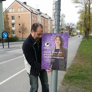 Kampanjarbetande Erik.